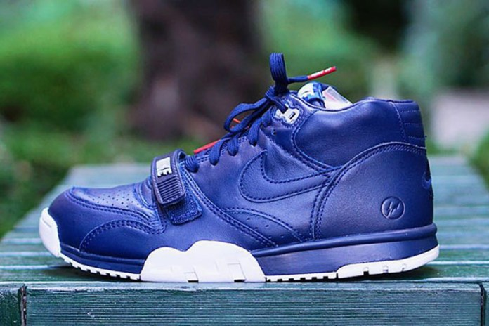 "A First Look at the fragment design x NikeLab Air Trainer 1 SP ""U.S. Open"""