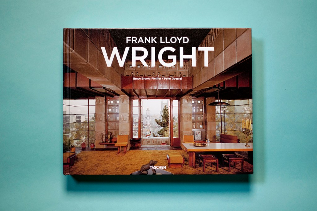 frank lloyd wright monograph by taschen hypebeast. Black Bedroom Furniture Sets. Home Design Ideas