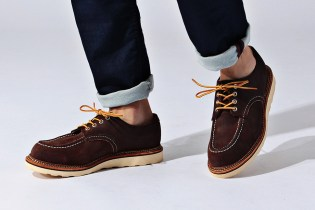 'Free & Easy' x Red Wing 2015 Fall/Winter Work Oxford Shoes