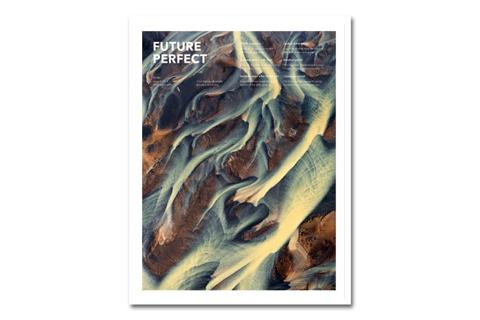 'Future Perfect' Magazine Issue 3