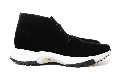 GANRYU 2015 Fall/Winter Vibram Sole Footwear