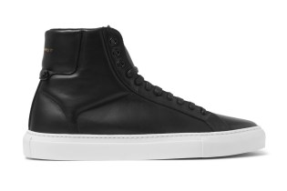 "Givenchy Leather High-Top ""Black"""