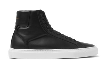 """Givenchy Leather High-Top """"Black"""""""