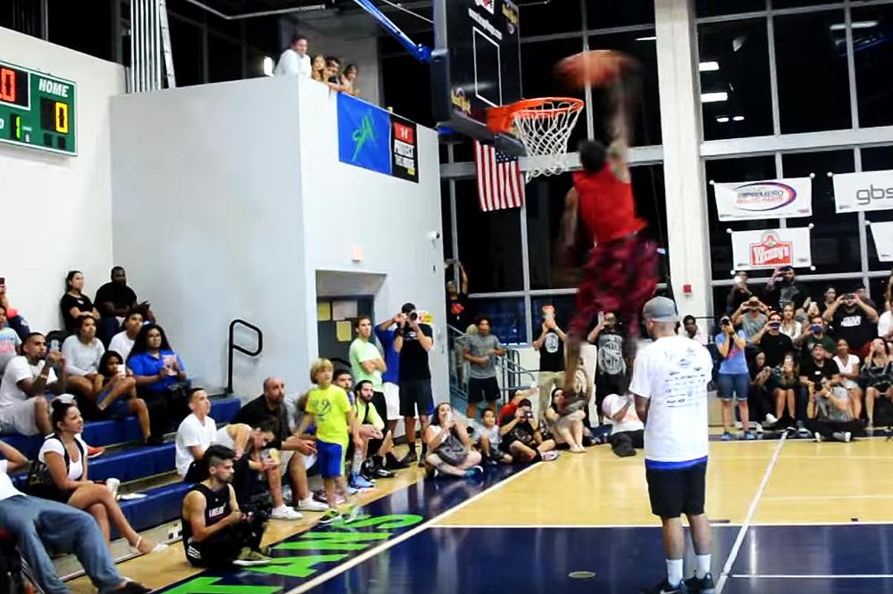 Dunk Experts Guy Dupuy and Jordan Kilganon Face off in Miami Contest
