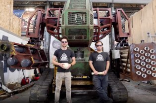Help Get Arnold Inside This Giant Robot