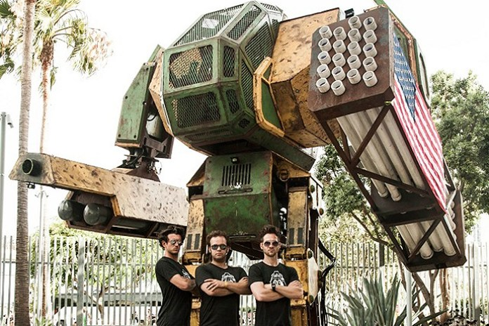 Help Team USA Create a Giant Combat Robot to Defeat Japan