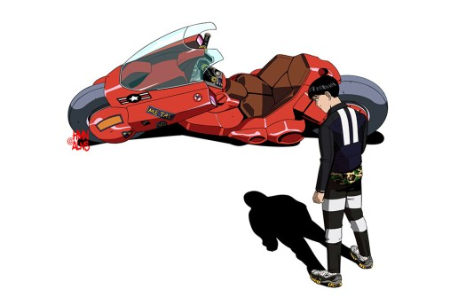 HMN ALNS Imagines 'Akira' Star Kaneda in Streetwear Favorites