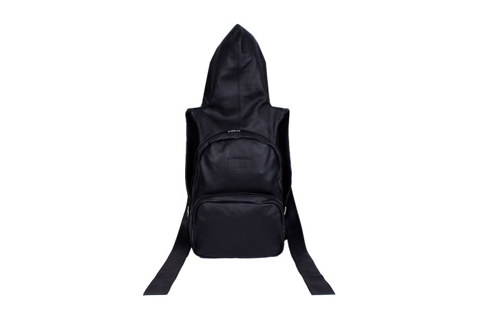 Hood By Air 2015 Fall/Winter Leather Durag Backpack