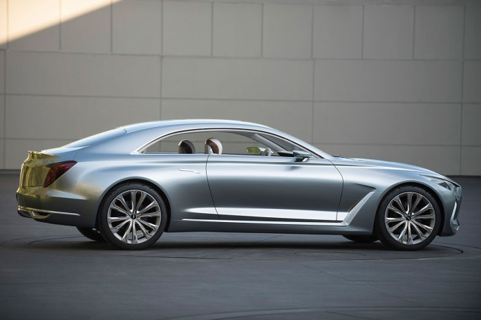 Hyundai Previews Its Luxurious Vision G Coupe Concept