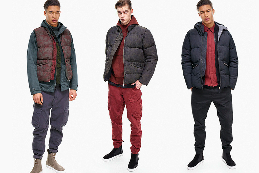 Stone Island Shadow Project 2015 Fall/Winter Lookbook
