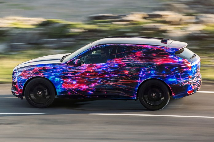 Jaguar Teases Its Upcoming F-PACE SUV