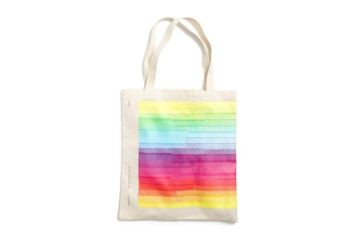Jamie xx x J.Crew 'In Colour' Tote Bag