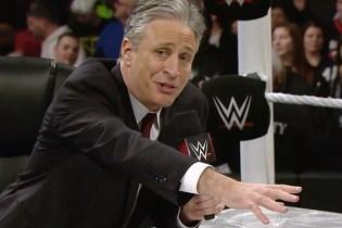 Jon Stewart Is Hosting the WWE SummerSlam