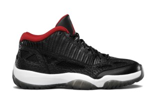 "The Air Jordan 11 IE Low ""Bred"" Will Not Release Next Month"