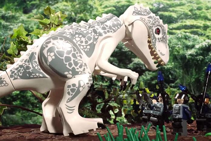 'Jurassic World' Recreated With LEGO
