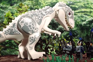 'Jurassic World' Recreated With LEGO