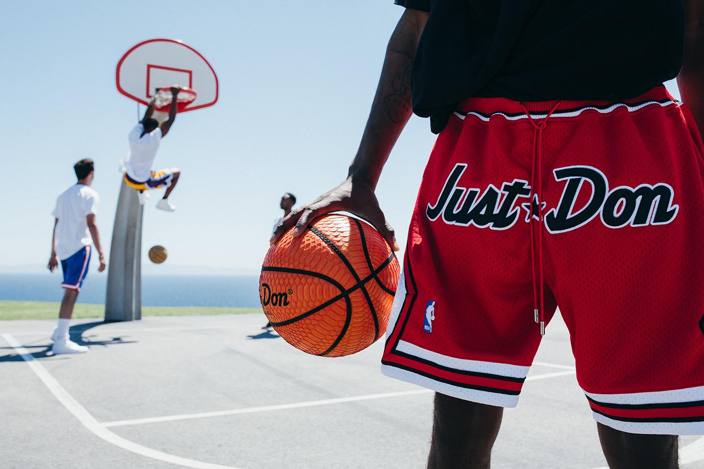 Just Don 2015 Summer Basketball Shorts Lookbook