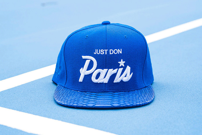 "Just Don x Mitchell & Ness ""Paris - Fleur de Lis"" Capsule Collection"