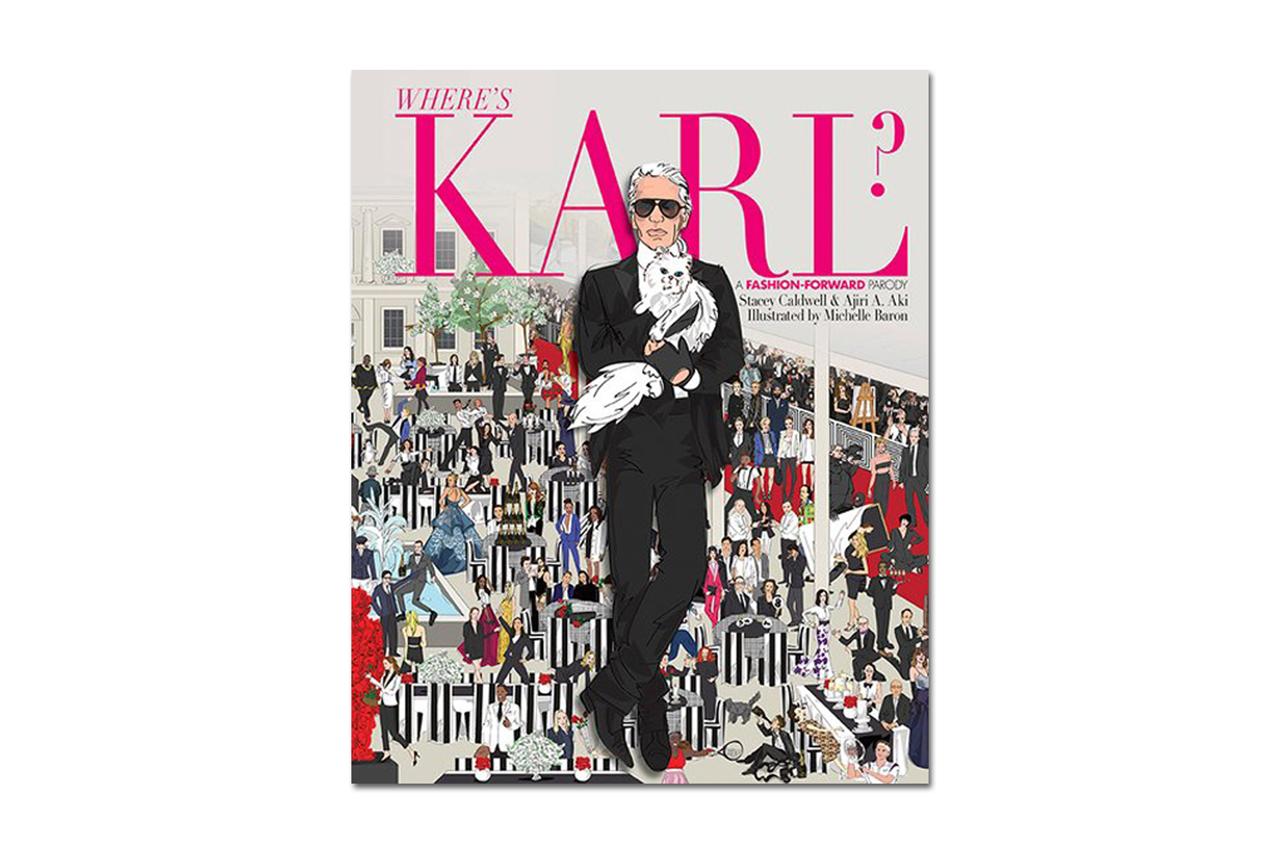 "Karl Lagerfeld Set to Star in His Own ""Where's Waldo?"" Parody"