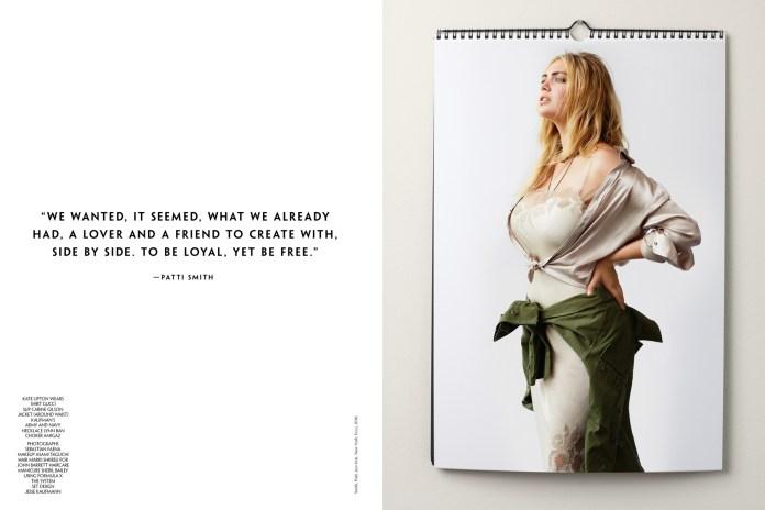 Kate Upton by Sebastian Faena for 'CR Men's Book'