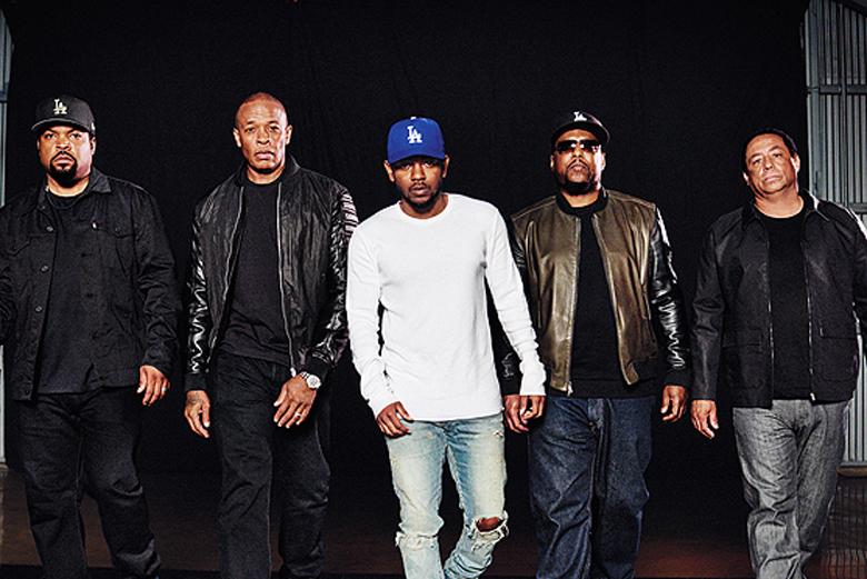 Kendrick Lamar Interviews N.W.A