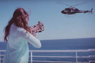 "Lana Del Rey ""High By The Beach"" Music Video"