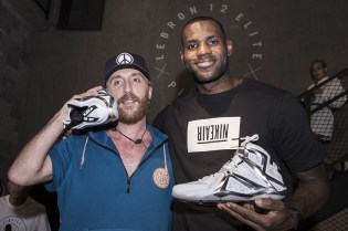 LeBron James and Stéphane Ashpool on the Design Concept of Pigalle x Nike LeBron 12 Elite