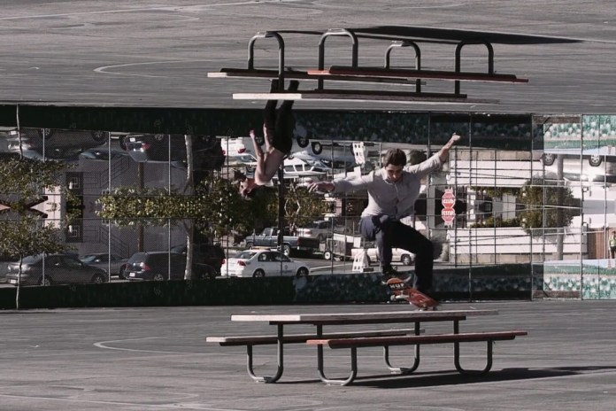"""""""LEVEL"""" Is a Skate Video With 'Inception'-Like Motion Graphics"""