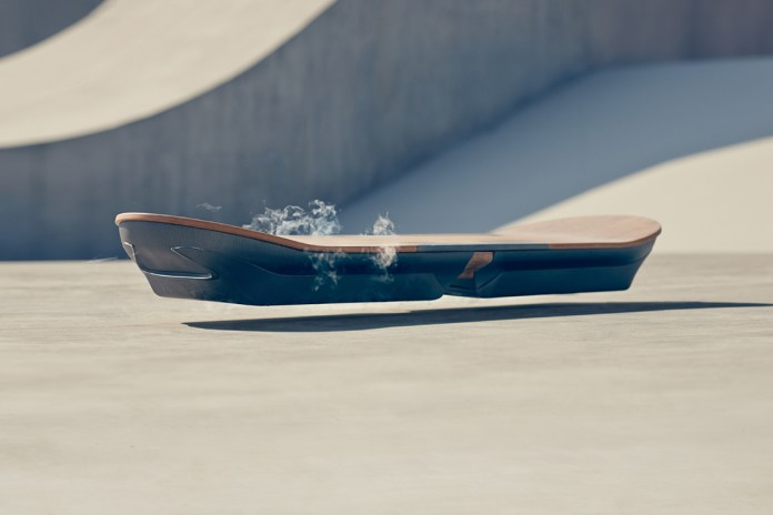 "Lexus Officially Unveils its ""SLIDE"" Hoverboard"