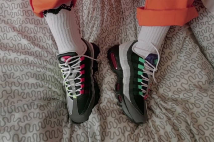 'The Rig Out' x size? x Nike Explore Air Max 95's Connection to London Youth Culture With Four UK Artists