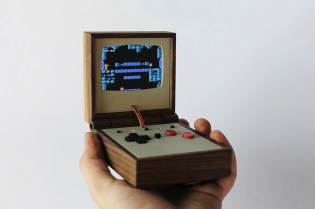 Love Hulten Unveils Two Gloriously Retro Gaming Machines