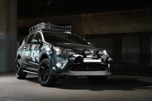 The LRG X DUB Magazine x Toyota RAV4 Is a Professional Sound Studio on Wheels