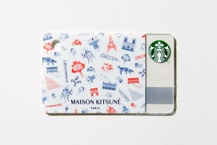 Maison Kitsuné x Starbucks Japan Gift Card for 'GQ Japan'