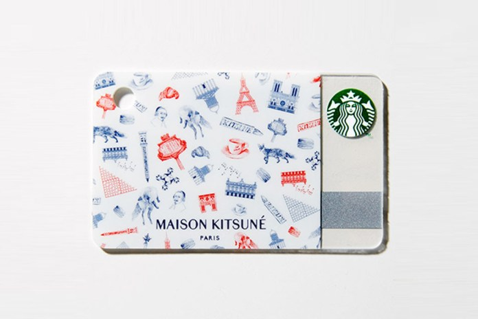 Maison Kitsuné x Starbucks Japan Gift Card for 'GQ Japan'