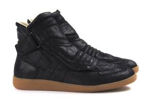 Maison Margiela Single Strap Suede High-Top Sneaker