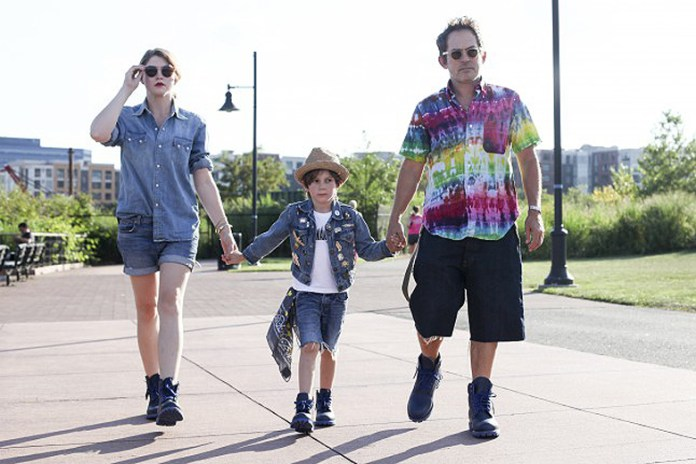"Mark McNairy and Family for Bee Line x Timberland 6"" ""Blue Boot"" Editorial"