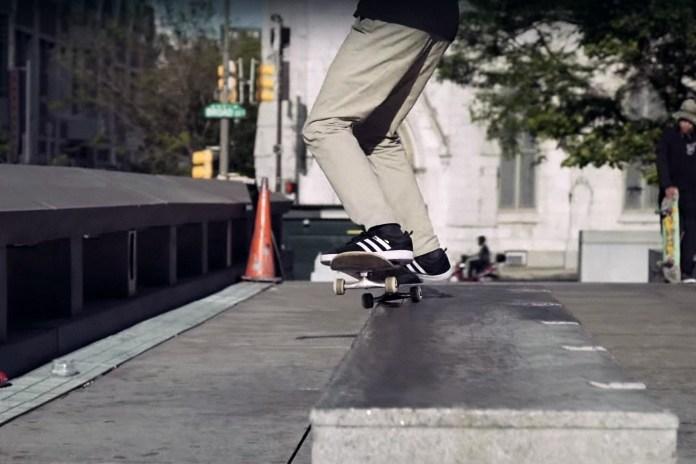 Mark Suciu Skates America's Great Plazas for adidas Skateboarding