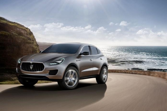 Maserati Reveals Its Levante Crossover SUV