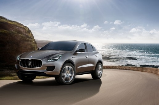 Maserati Reveals Its Levante Crossover SUV