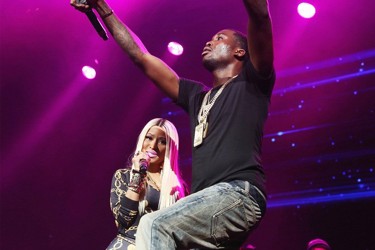 Meek Mill Performs a New Drake Diss Track on 'The Prinkprint' Tour