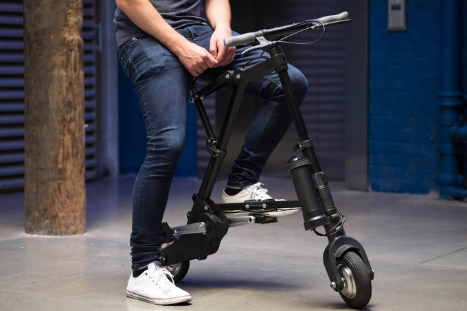 Meet A-Bike, the World's Lightest & Most Compact Folding Electric Bike