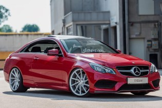 Mercedez-Benz C207 E-Class Coupe With Vossen CVT Wheels