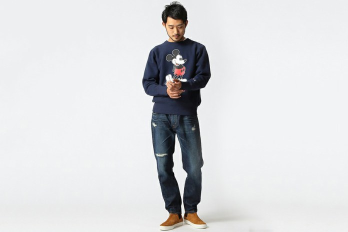 Mickey Mouse x BEAMS x Champion 2015 Fall/Winter Collection
