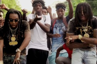 """Migos """"Pipe It Up"""" Music Video"""