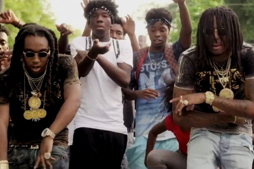 "Migos ""Pipe It Up"" Music Video"
