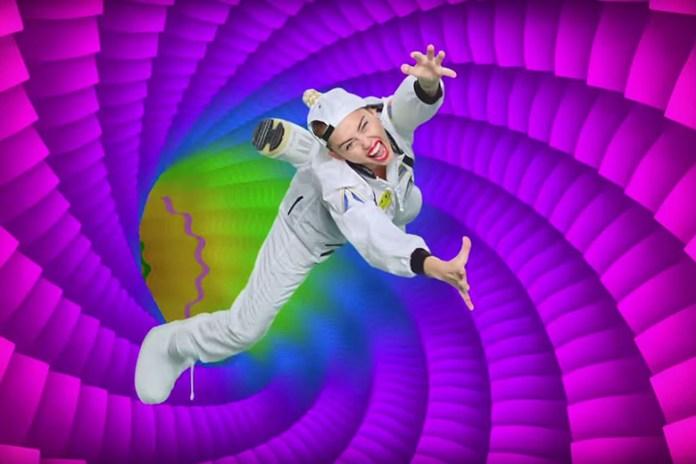 Miley Cyrus x Jen Stark MTV VMA TV Spot