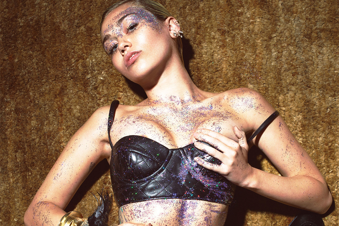 """Miley Cyrus Stars in Mert & Marcus's """"1980s Party"""" Editorial for 'W Magazine'"""