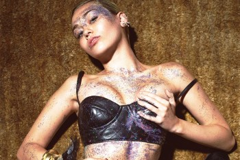 "Miley Cyrus Stars in Mert & Marcus's ""1980s Party"" Editorial for 'W Magazine'"