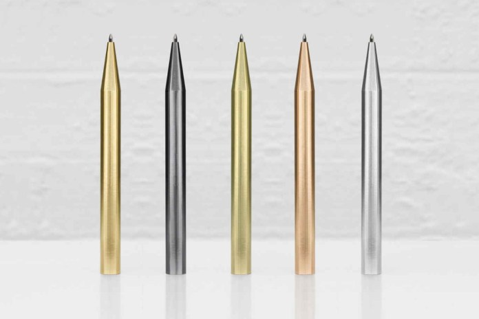 Minimalux Ballpoint Pens Draw Inspiration From Rare Elements