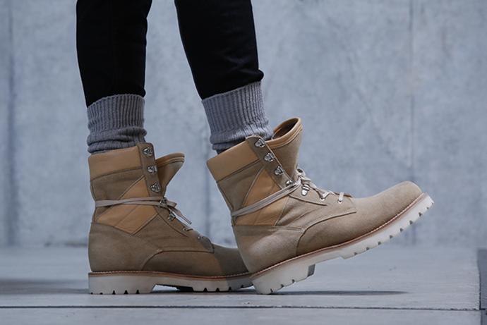 monkey time x Caminando 2015 Fall Army Boots